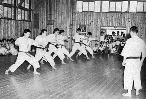 Takushoku training 1